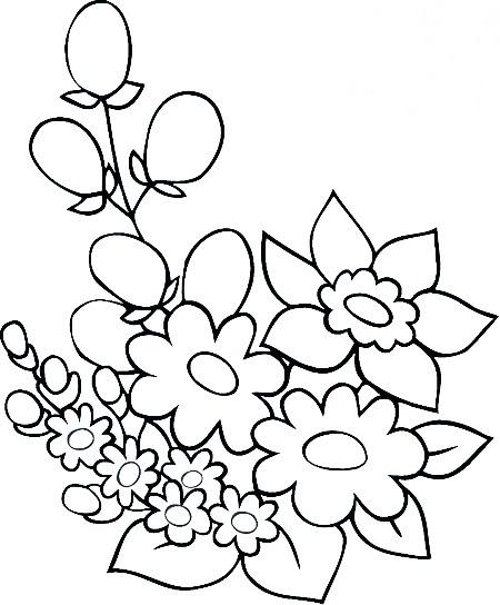 çiçek Resmi Boyama Okul öncesi