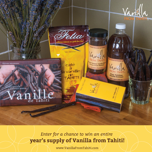 Vanilla For a Year Giveaway