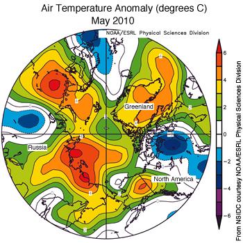 figure 4: air temperature map