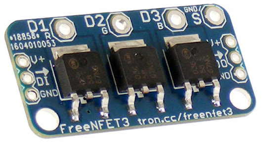 NEW PRODUCT - Addressable Triple N-MOSFET driver / output module | Freetronics
