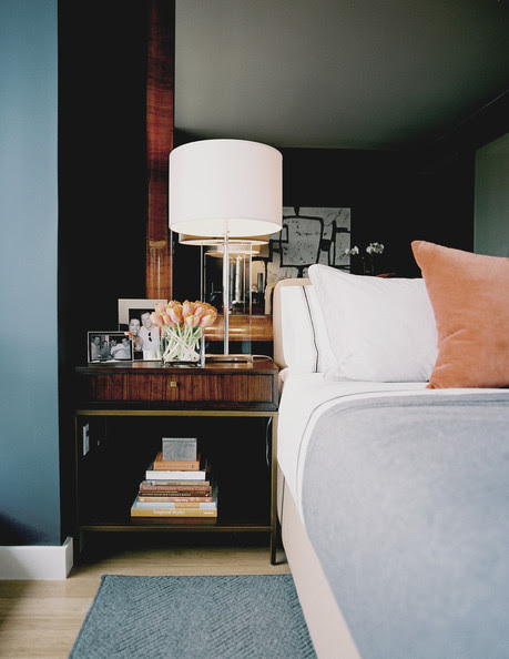 Mirror Above Bed Photos, Design, Ideas, Remodel, and Decor - Lonny