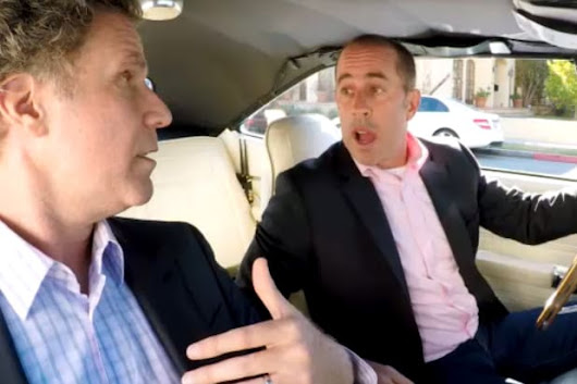 Jerry Seinfeld Offers Will Ferrell Candy on 'Comedians in Cars'