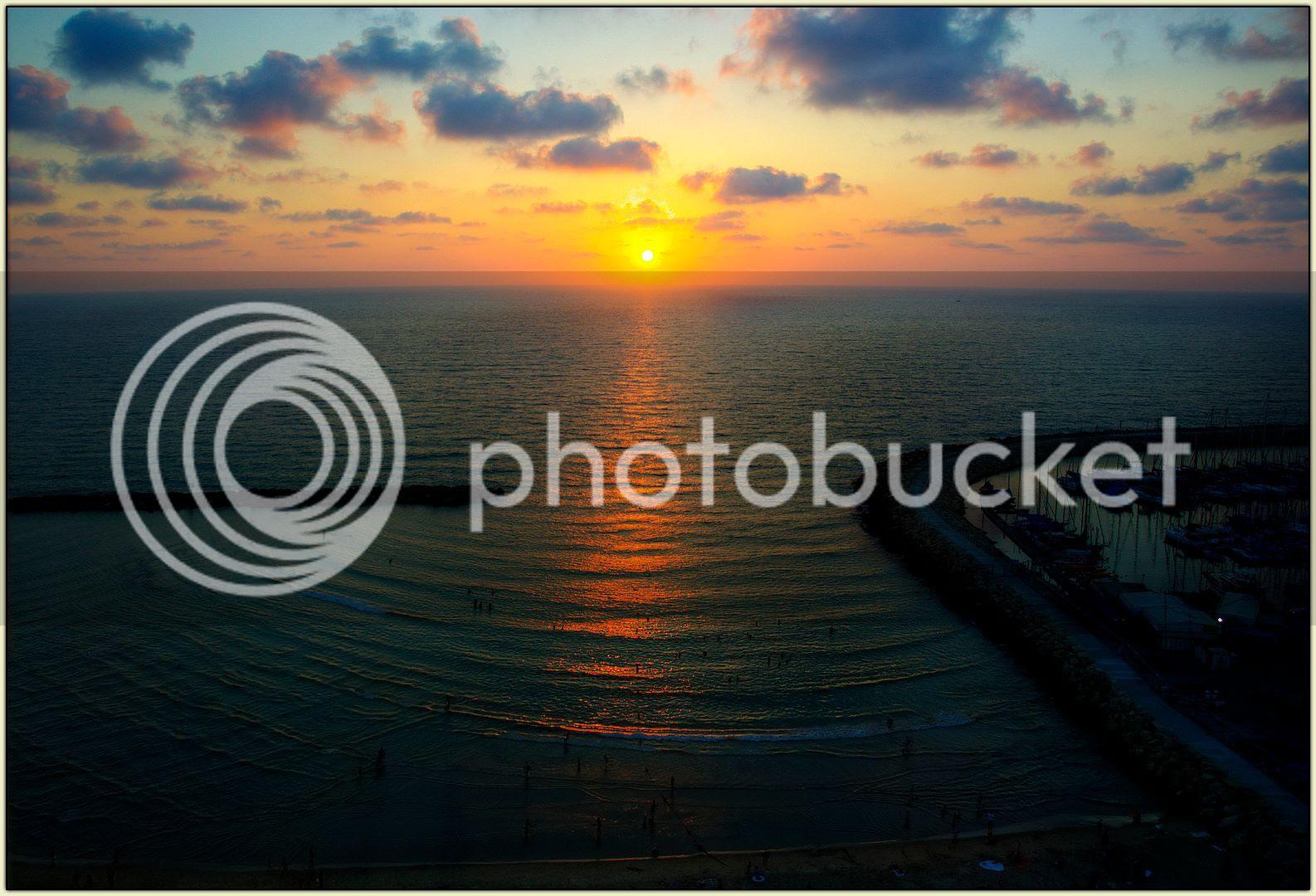Tel Aviv Sunset HDR