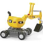 Kettler Caterpillar Digger Riding Push Toy, Yellow
