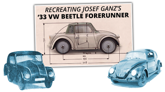 The Only Surviving Example Of The Volkswagen Beetle's Forgotten Ancestor Is Going To Be Restored