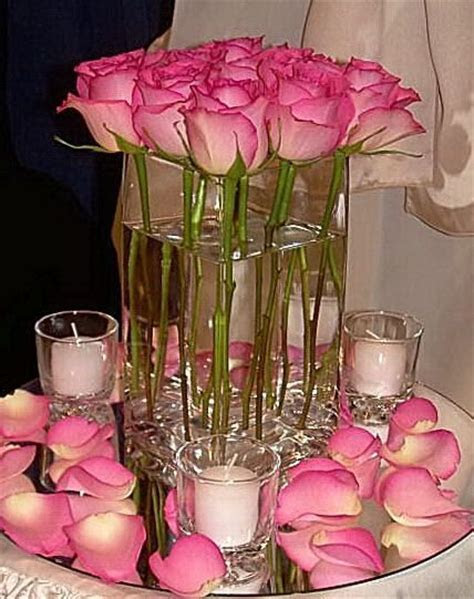 Cheap Candle Centerpieces for Weddings   Wedding Blog