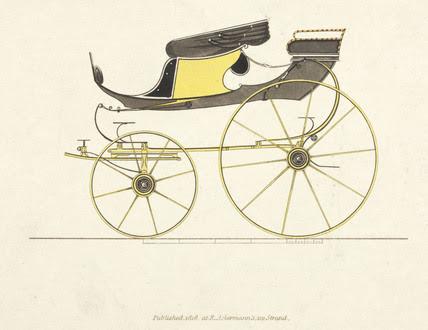 High_flyer_phaeton_carriage,_1816