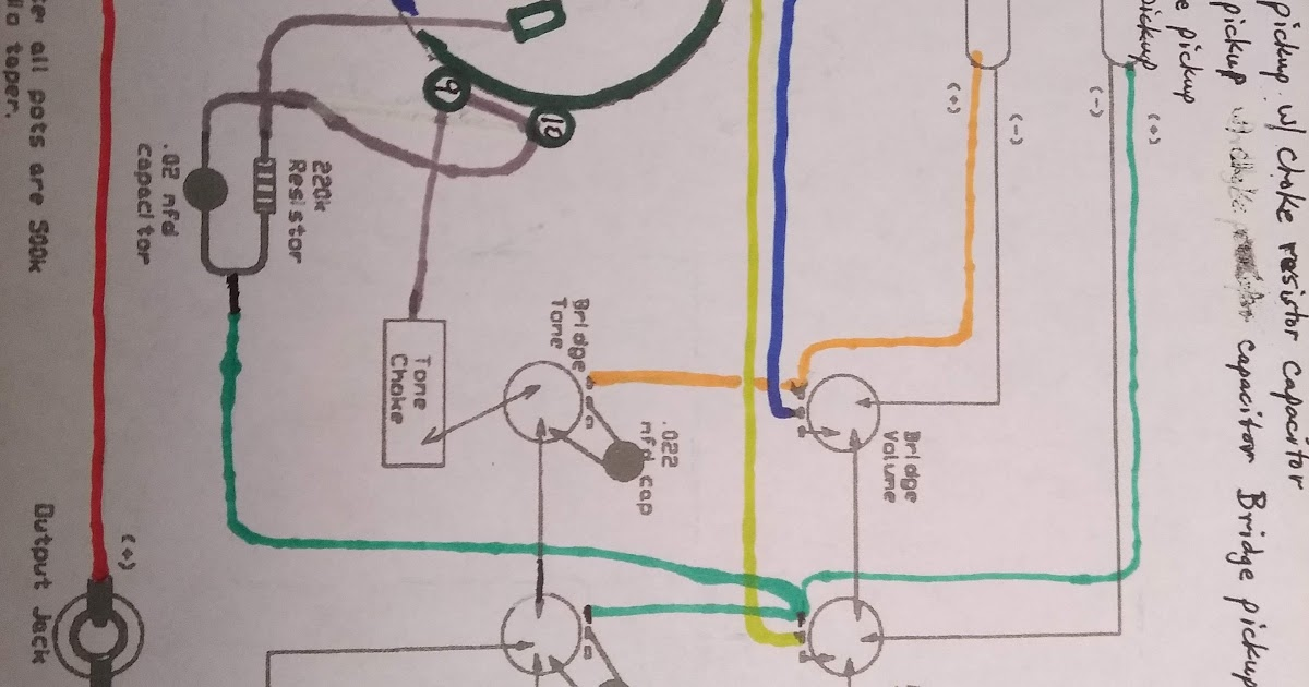 4 Position Rotary Switch Wiring Diagram