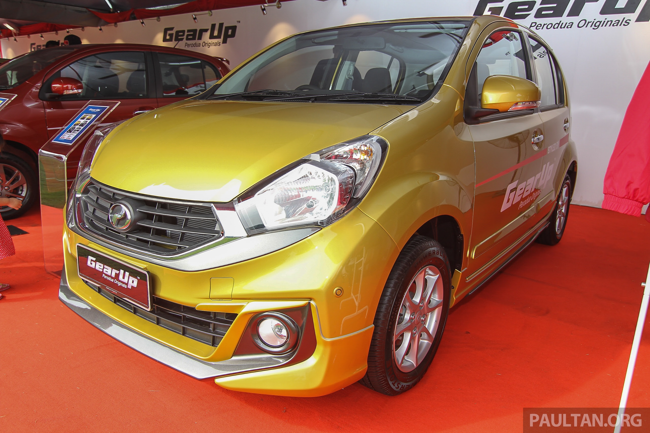 Perodua Myvi GearUp accessories - details and prices