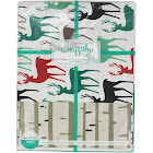 Wrappily Eco Gift Wrap Co. Reversible Wrapping Paper Stags/ Birch 6 Sheet(s)