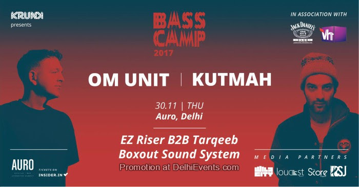 Bass Camp Festival 17 Om Unit Kutmah Auro Kitchen Bar Creative