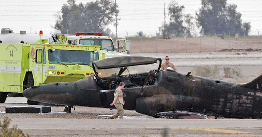 Marine killed after civilian jet crashes at Yuma