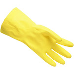 Liberty Gloves 394228712 18 ml Latex Household Lined Gloves Large