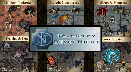 New Devin Night Creature Tokens | D20PRO