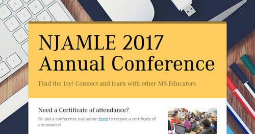 NJAMLE 2017 Annual Conference