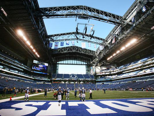 Breakdown of the Lucas Oil Stadium Seating Chart