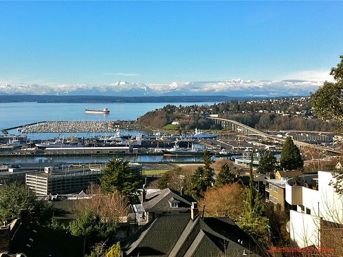 Prediction for New Year's Day by Seattle Daily Photo