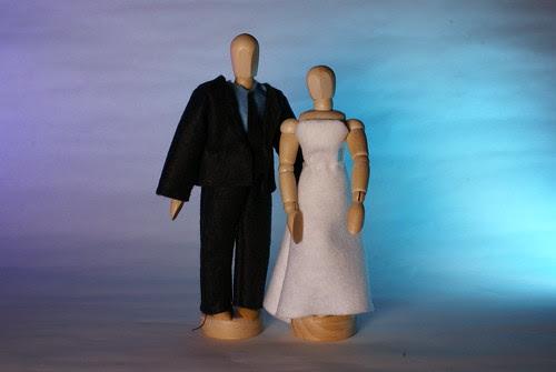 Stunt Bride And Groom