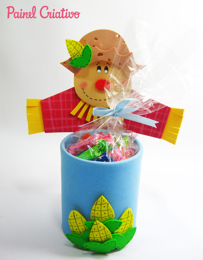 modelos lembrancinha festa junina eva decoracao escola reciclado latinha  (2)