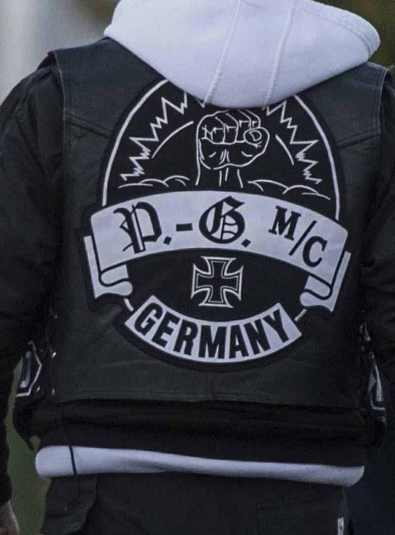 Gremium MC kommer fra Tyskland. Polfoto
