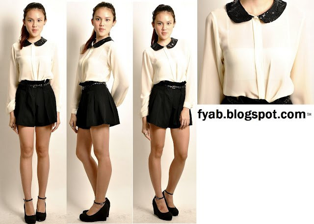 Sequin_Peter_Pan_Collar_Top(Long_sleeve)_-_White