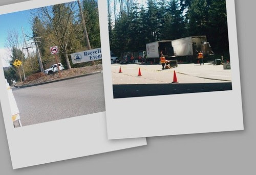 Mercer Island recycling event