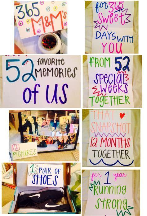 1 year anniversary gifts for him ideas   boyfriend ?