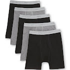 Hanes Men's Boxer Briefs with Comfort Flex Waistband (5-Pack)