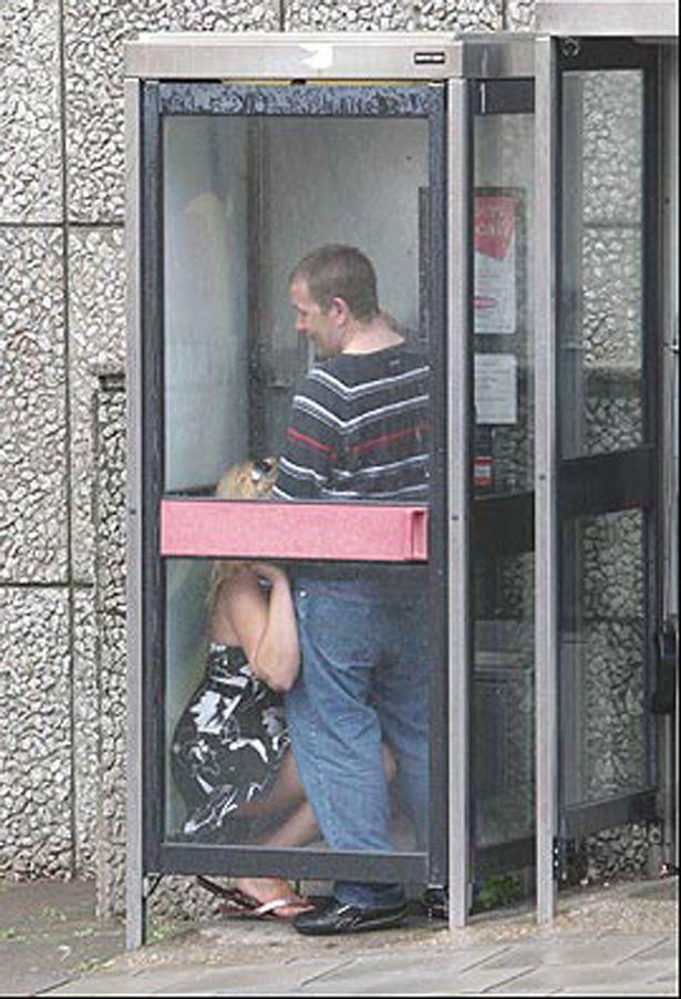 Sex in Phone box
