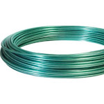 Hillman Fasteners 122090 Clothesline Wire, 50', Green Vinyl Jacketed