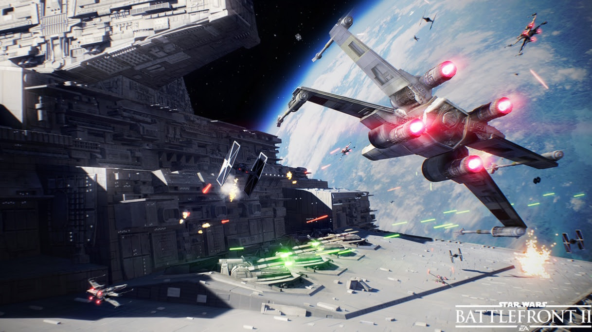 October the 6th be with you (because that's when Star Wars Battlefront II gets a beta) screenshot