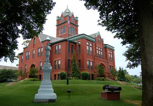 Grand Traverse County Courthouse, Traverse City, MI