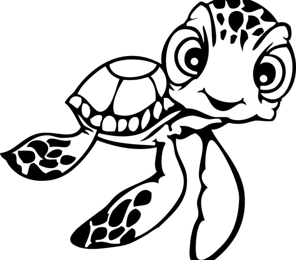 Baby Sea Turtle Drawing at GetDrawings | Free download