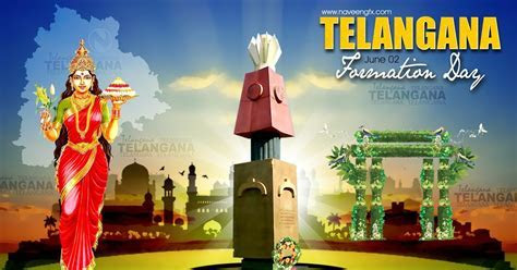 Telangana Formation day HD poster and wallpapers in JPEG