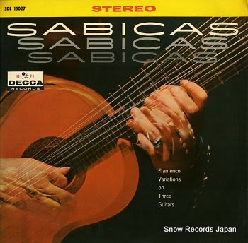 SABICAS flamenco variations on three guitars