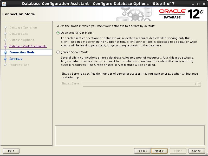 Configure CDB 5