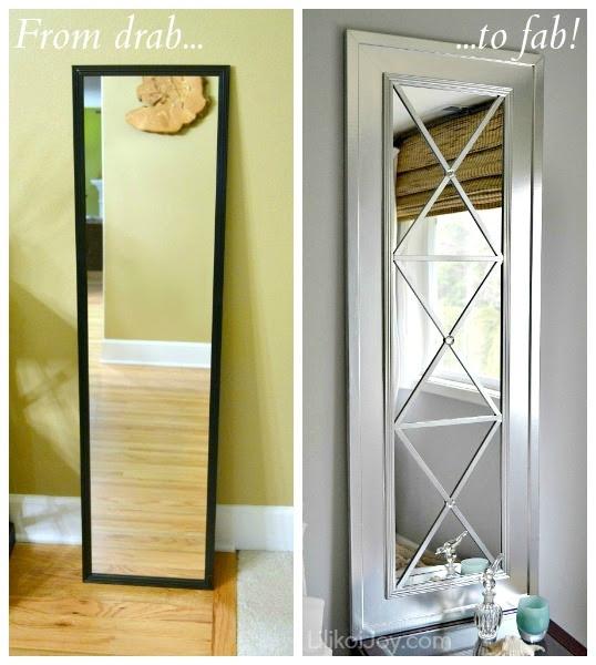 DIY Mirror wall decor - Craftionary