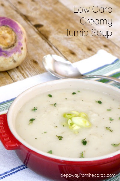 Low Carb Creamy Turnip Soup