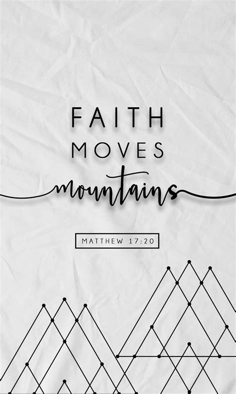 faith moves mountains  iphone wallpapers  prone