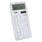 Victor Technology VCT940BN Scientific Calculator with 2 Line Display - Pack of 3