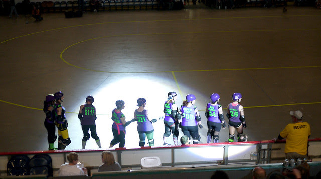 Cincinnati Rollergirls vs NEO Roller Derby