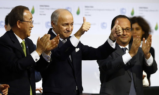 The Paris agreement signals that deniers have lost the climate wars | Dana Nuccitelli | Environment | The Guardian