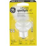 GE Spotlight Light Bulb, Soft White, 40W