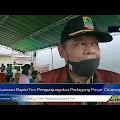 293 Warga Rapid Tes di Pasar Cilamaya, 4 Orang Reaktif Langsung di Angkut ke RS Paru