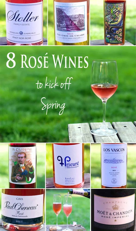 8 Rosé Wines to Kick off Spring - Vindulge