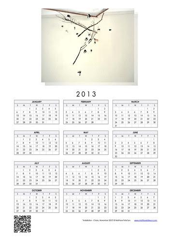 2013 Calendar - Chairs Installation