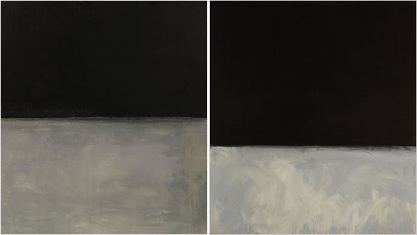 dueling Rothkos