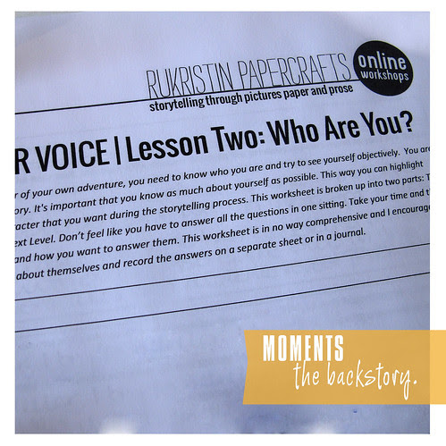 Best of 2013: 5. Find Your Voice Workshop - Who Are You?