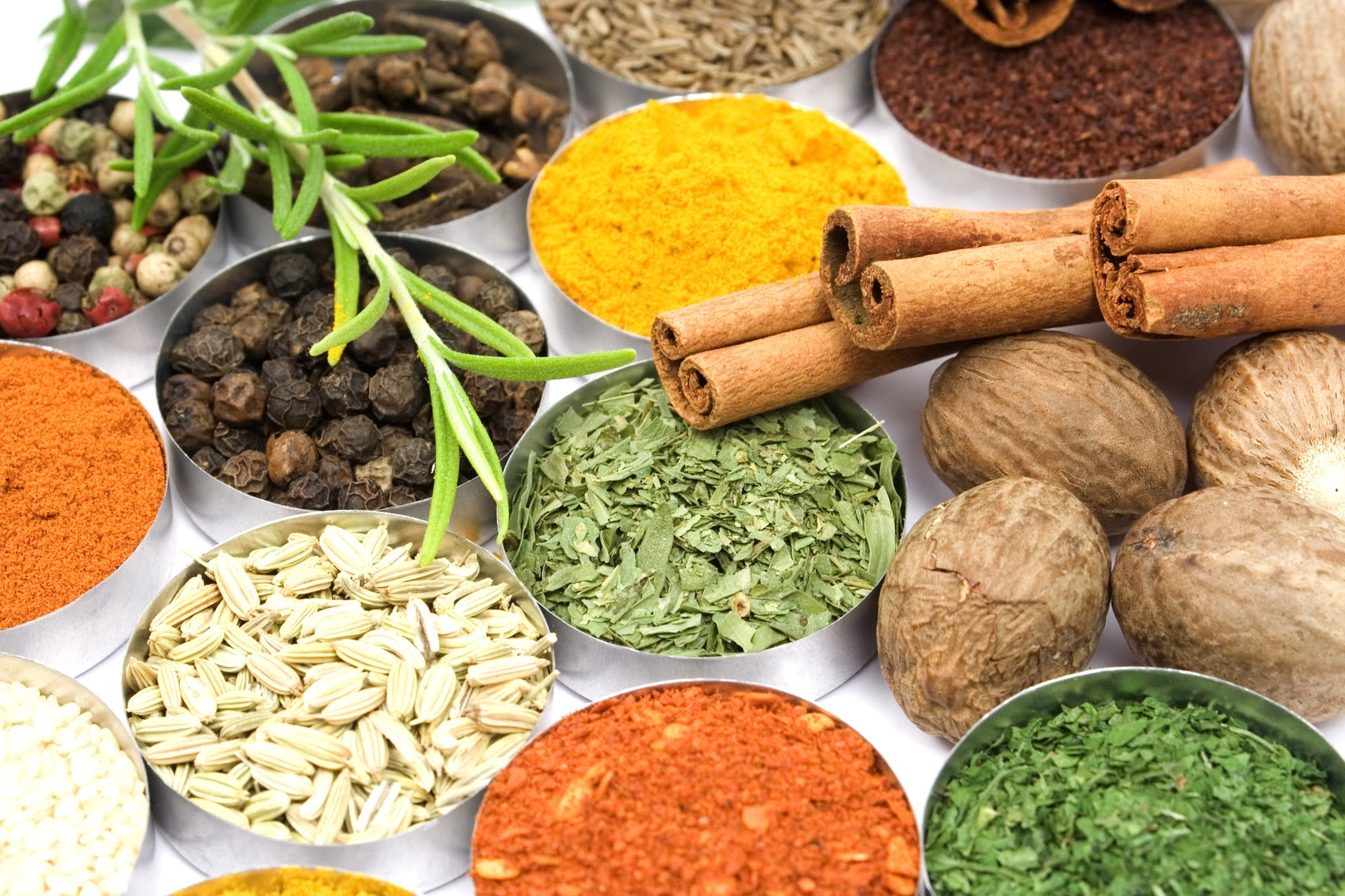 10 Herbs and Spices