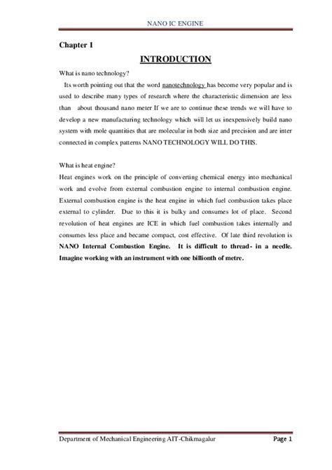 (DOC) Nano IC engine | Raviranjan Kumar - Academia.edu